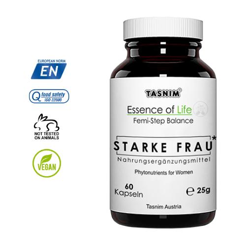 Femi Step Balance - Starke Frau - Menopause - Essence of Life - Tasnim
