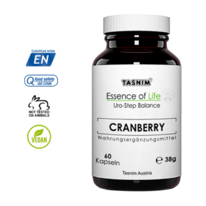 Cranberry + Lactobacillus rhamnosus - 60 Kapseln