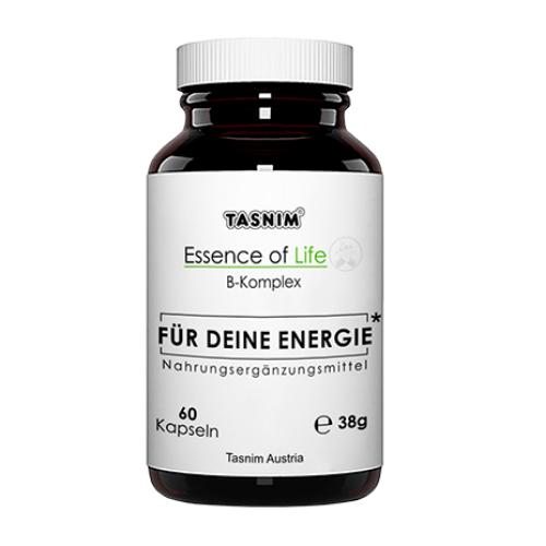Vitamin B-Komplex - Für deine Energie - Essence of Life - Tasnim