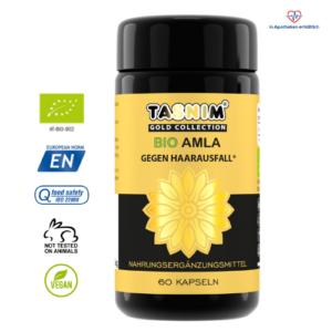 Bio Amla - Tasnim® -  indische Stachelbeere - Phyllanthus emblica - 60 Kapseln