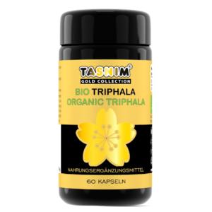 Bio Triphala - Myrobalanfrüchte - 60 Kapseln