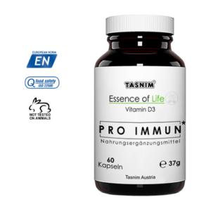 Pro Immun - Vitamin D3 - 400 IE - 60 Kapseln