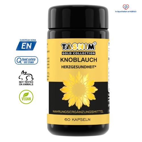 Knoblauch - Herzgesundheit - Tasnim - Gold Collection - 2021