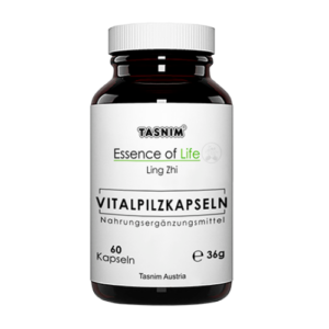Vitalpilzkapseln - Ling Zhi + Acerola - 60 Kapseln