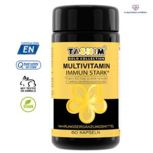 Multivitamin - Tasnim® <br> Immun Stark* - 60 Kapseln