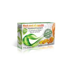 Tasnim Schwarzkümmelöl - 80 Kapseln