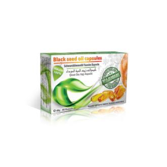 Schwarzkümmel Kapseln - 80 Kapseln - Tasnim