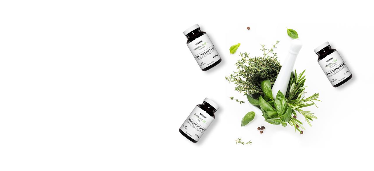 Vitamin B-Komplex, Boswelia Extrakt, OPC