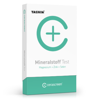 Mineralstoff Test Tasnim (Magnesium + Zink + Selen)