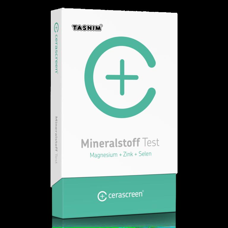 Mineralstoff Test Tasnim (Magnesium + Zink + Selen)
