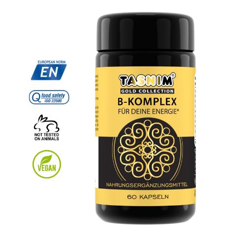 Tasnim Vitamin B-Komplex + Inulin aus Zichorien Wurzelextrakt