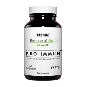 Pro Immun - Vitamin D3 - 1000 IE - 60 Kapseln