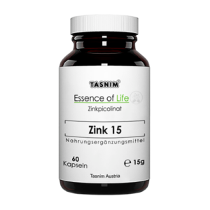 Zink 15 - Zinkpicolinat - 60 Kapseln