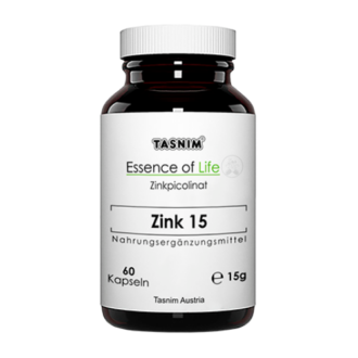 Zinkpicolinat - Zink 15 - Essence of Life - Tasnim