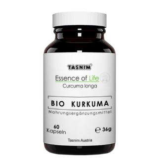 Bio Kurkuma - Essence of Life Tasnim - mit Icons
